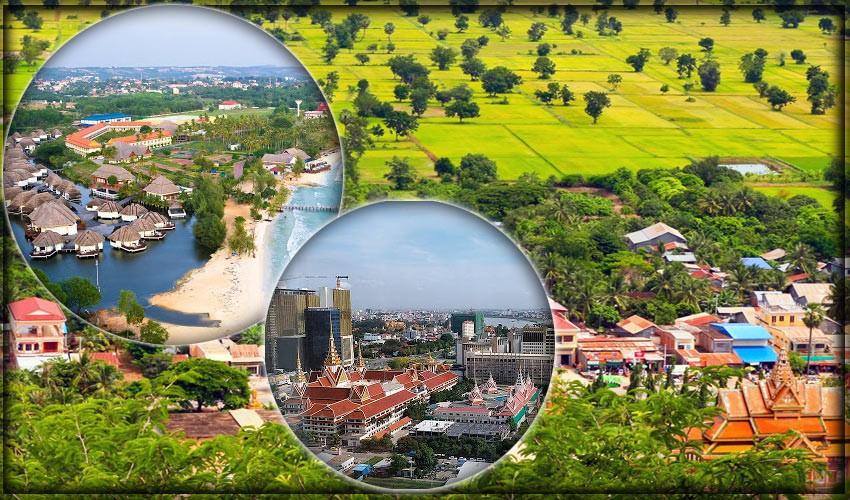 Крупнейшие города Камбоджи