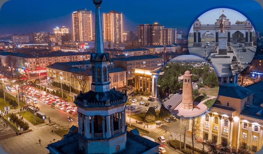 Семёрка крупнейших городов Киргизии