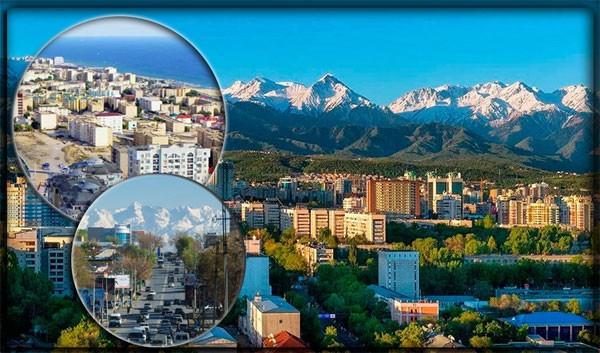 Крупнейшие города Республики Казахстан
