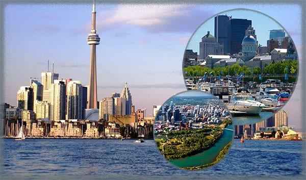 Крупнейшие города в Канаде