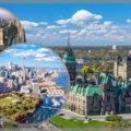 Крупнейшие города Канады