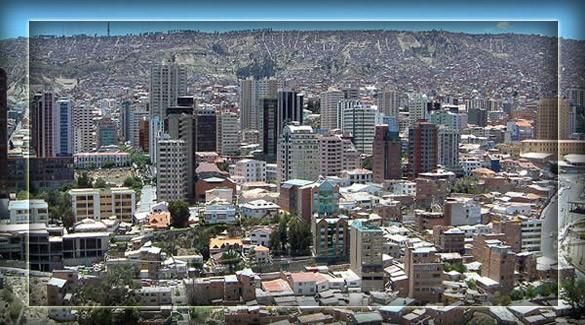 Ла-Пас - столица Боливии