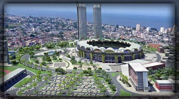 Либревиль - столица Габона