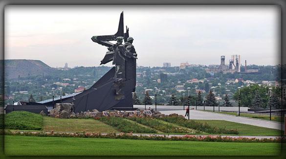 Мемориальный комплекс «Освободители Донбасса» Донецк