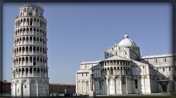 Места достопримечательностей в Италии