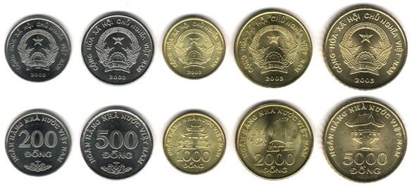 Вьетнамский донг - монеты Вьетнама