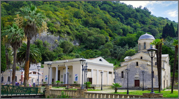 Музей Абхазского царства. Абхазия