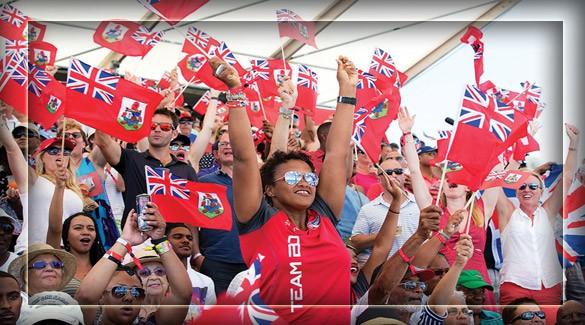 Жители Бермудских островов
