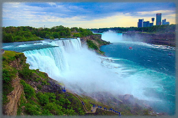 Ниагарский водопад - Канада