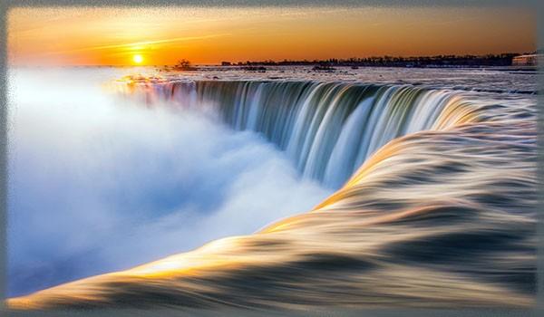 """Водопад """"Подкова - Канада"""