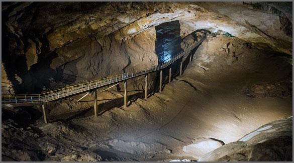 Новоафонская пещера. Абхазия