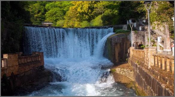 Новоафонский водопад. Абхазия