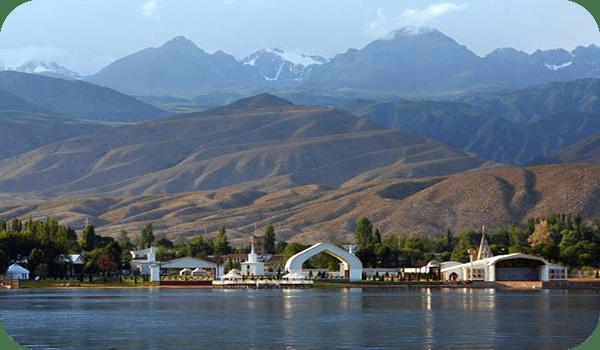 Озеро Иссык-Куль - Киргизия