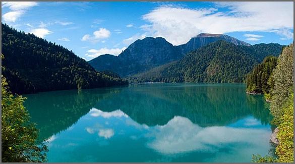 Озеро Рица. Абхазия