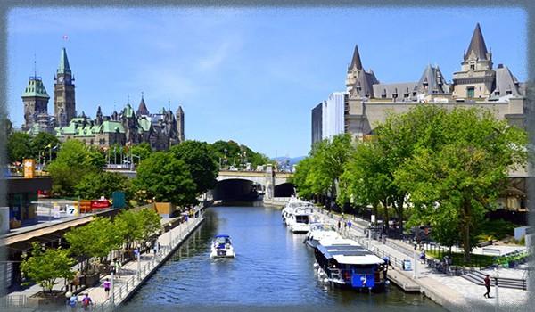 город Оттава - Канада