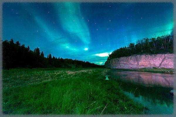 Парк Вуд-Буффало - Канада