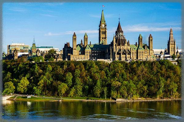 Парламентский холм в Оттаве - Канада