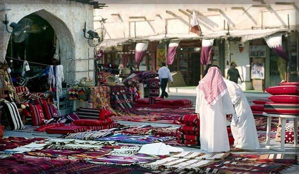 Рынок Сук-Вакиф в Катаре