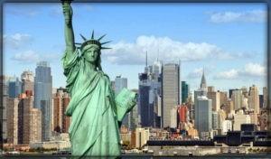 США - вторая самая посещаемая страна