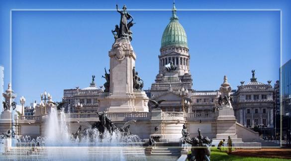 Столица Аргентины - Буэнос-Айрес
