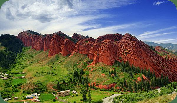 Ущелье Джети-Огуз - Киргизия