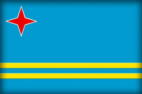 Флаг Арубы (Flag of Aruba)