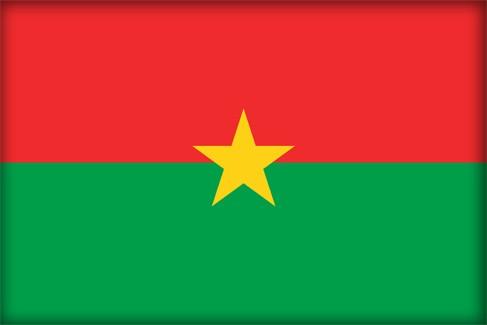 Флаг Буркина-Фасо (Flag of Burkina Faso)