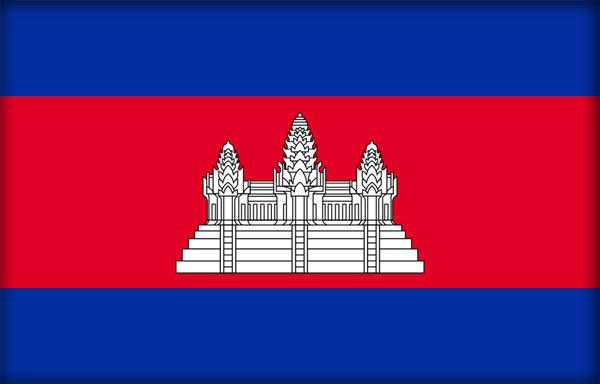 Флаг Королевства Камбоджа