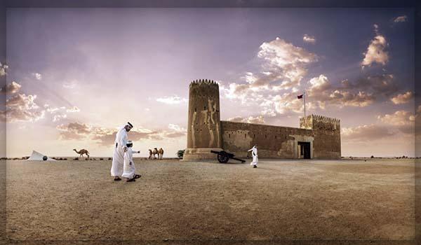 Форт Зубара в Катаре