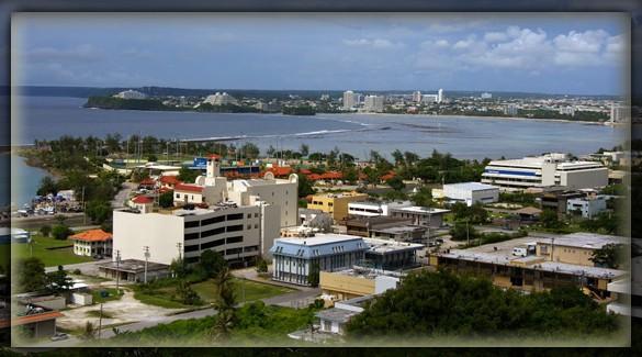 Столица острова Гуам