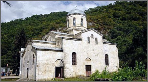 Храм Святого апостола Кананита. Абхазия