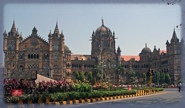 индийский вокзал Чхатрапати-Шиваджи