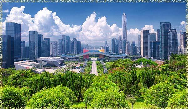 город Шэньчжэнь (Shenzhen)