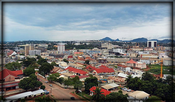 город Яунде - столица Камеруна