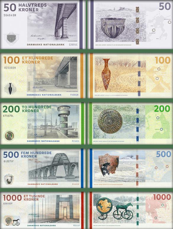 валюта Гренландии - банкноты