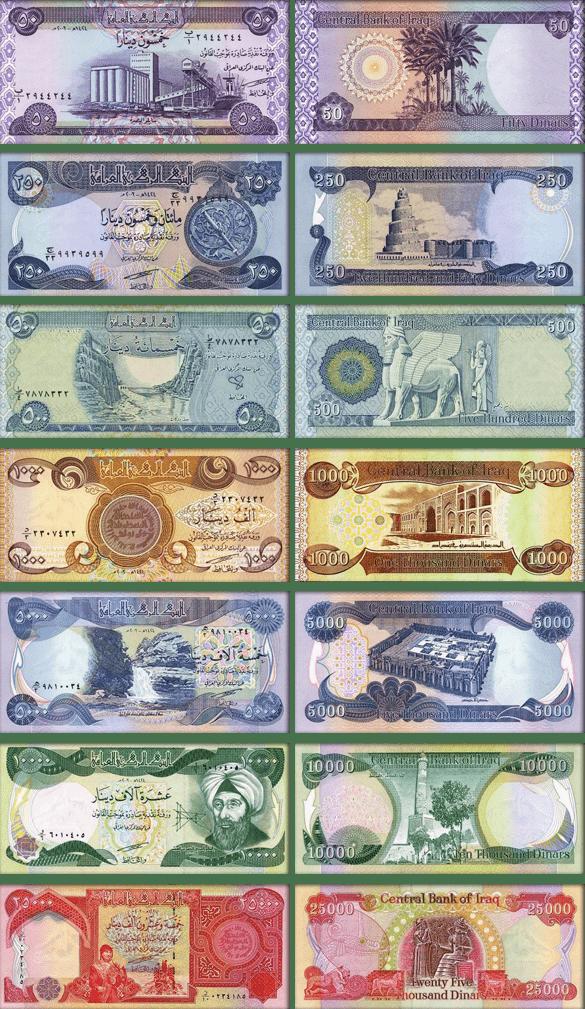 деньги Ирака