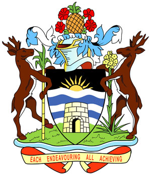 герб Антигуа и Барбуды