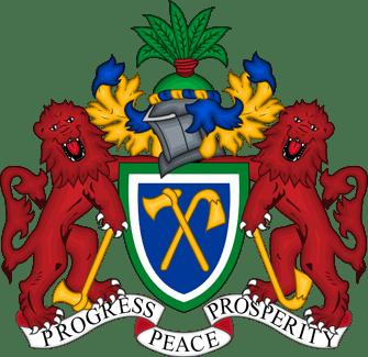 Герб Гамбии