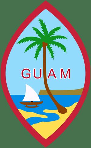 герб острова Гуам