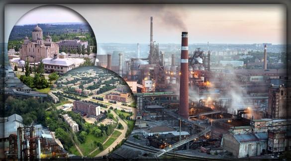 Крупнейшие города Донецкой Народной Республики
