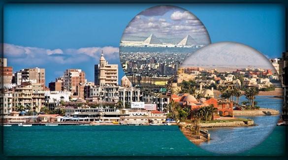 Крупнейшие города Египта