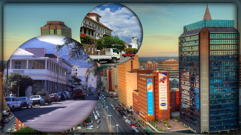 Крупнейшие города Зимбабве