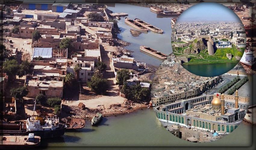 Крупнейшие города Ирака
