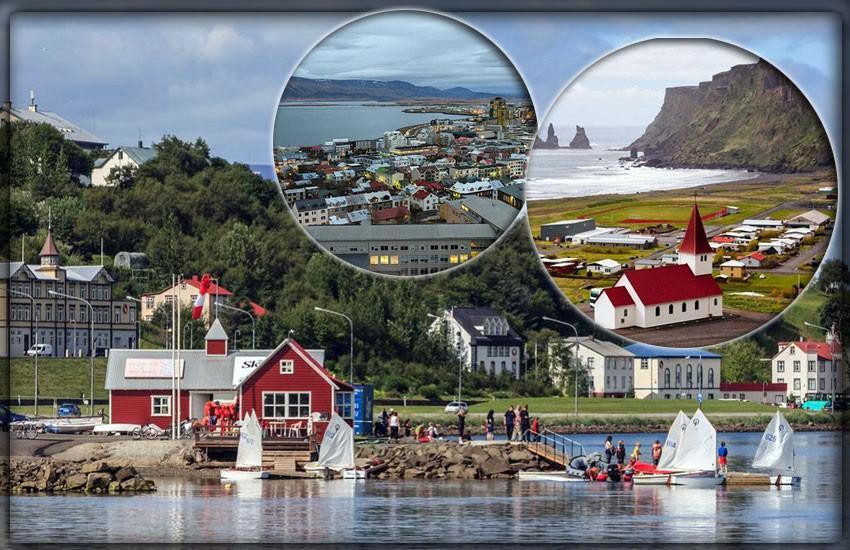 Крупнейшие города Исландии