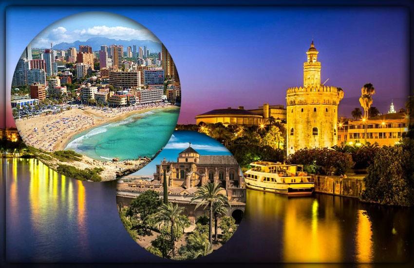 Крупнейшие города Испании