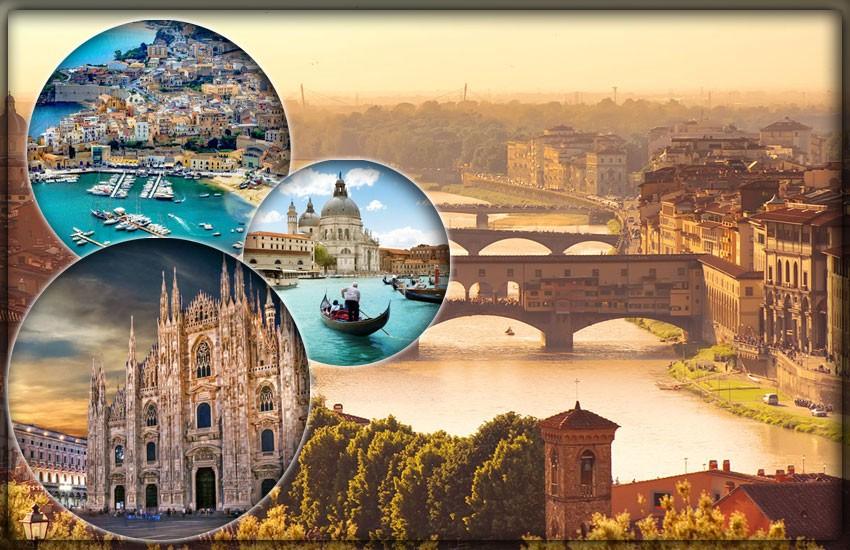 Крупнейшие города Италии