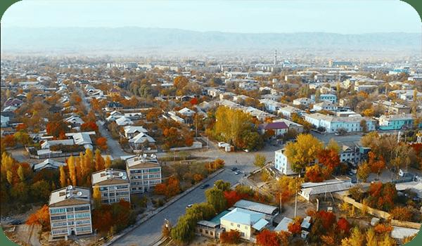 город Кызыл-Кия