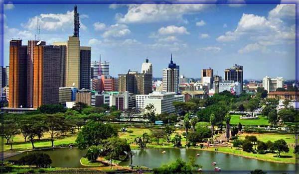 город Найроби (Кения)