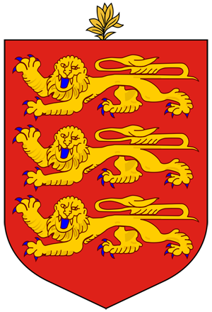 герб Гернси (coat of arms Guernsey)
