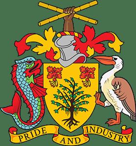 Национальный герб Барбадоса